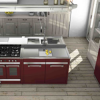 STEEL LAUNCH IN-LINE RANGE OF KITCHEN FURNITURE