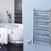 Dimplex launches new Compact Stepped towel rail to dry and warm multiple towels