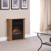 Dimplex launches new Orvieto Oak electric fireplace