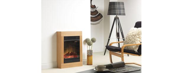 Dimplex Launches Cotenza Oak Compact Fireplace Suite