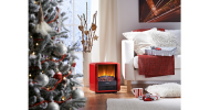 The Dimplex MicroFire is ideal for keeping guests warm this Christmas