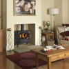 DIMPLEX'S SELBORNE CLASSICALLY STYLED WOOD-BURNING STOVE