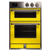 Steel launches built-in range of colourful ovens and hobs