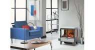 The Dimplex Cassington electric stove