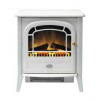 The Dimplex Courchevel cast iron-style electric stove