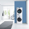 MAYTAG'S NEW LAUNDRY RANGE SETS HIGH STANDARDS IN WASHING AND DRYING